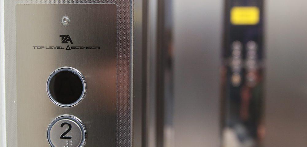 pulsantiera top level ascensori