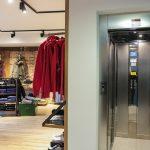 negozio con ascensore a varese