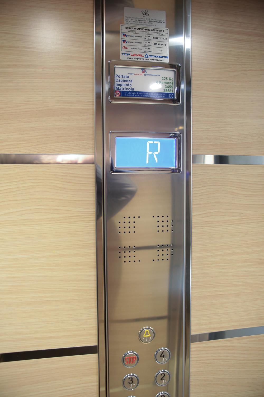 pulsantiera ascensore varese