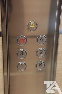 pulsantiera ascensore gallarate